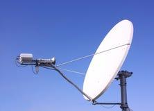 Una antena basada en los satélites imagen de archivo libre de regalías