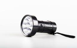 Una antorcha de la linterna del LED fotografía de archivo libre de regalías
