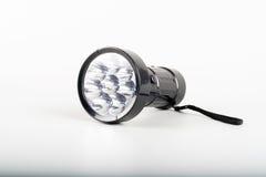 Una antorcha de la linterna del LED Fotografía de archivo