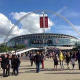 Una arena Londres de Wembley del concierto de la dirección imagenes de archivo