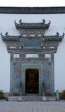 Una arquitectura china foto de archivo
