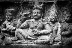 Una arquitectura dentro de un Angkor Wat, Siem Reap, Camboya Imagen de archivo