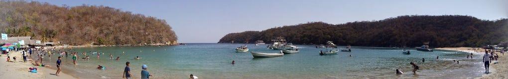 Una bahía en Huatulco Royalty Free Stock Photography