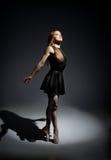 Una bailarina maravillosa joven Imagen de archivo libre de regalías