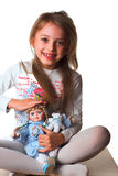 Una bambina Immagine Stock Libera da Diritti