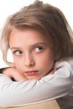 Una bambina Fotografie Stock