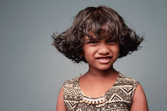 Una bambina Immagini Stock