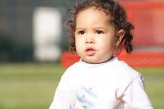 Una bambina Fotografia Stock Libera da Diritti