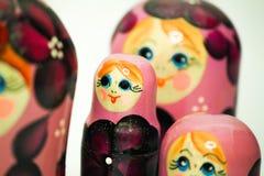 Una bambola di matrioska dalla Russia Fotografia Stock