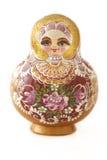 Una bambola russa Fotografie Stock Libere da Diritti