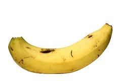 Una banana Fotografie Stock Libere da Diritti