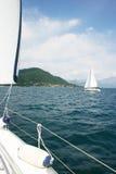 Una barca Fotografie Stock Libere da Diritti