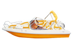 Una barca fotografia stock