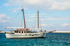 Una barca Fotografia Stock Libera da Diritti