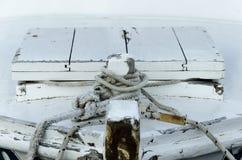 Una barca d'annata Immagine Stock Libera da Diritti