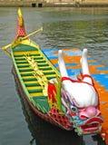 Una barca del drago Immagini Stock