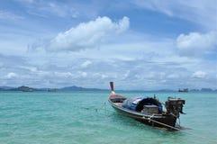 Una barca del pescatore immagine stock libera da diritti