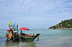 Una barca del pescatore Fotografia Stock