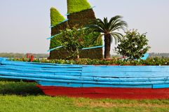 Una barca di legno immagine stock libera da diritti