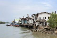 Una barca di pesca professionale Immagini Stock Libere da Diritti