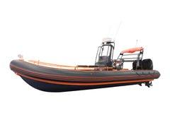Una barca gonfiabile Fotografia Stock Libera da Diritti