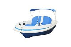 Una barca gonfiabile fotografia stock