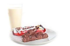 Una barra de chocolate más buena del bueno Fotografía de archivo