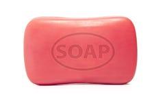 Una barra di sapone Fotografie Stock