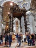 Una basílica papal en Roma fotos de archivo libres de regalías