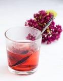 Una bebida caliente Fotos de archivo