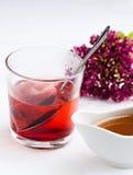 Una bebida caliente Fotografía de archivo libre de regalías