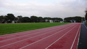 una bella area per gli sport Immagini Stock