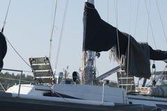 Una bella avventura delle barche Immagini Stock