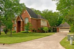 Una bella casa Immagine Stock Libera da Diritti