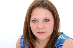 Una bella giovane donna di venti anni Fotografia Stock