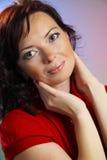 Una bella giovane donna Fotografia Stock Libera da Diritti