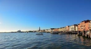Una bella laguna di Venezia un il bello giorno ad ottobre immagine stock libera da diritti
