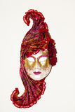 Una bella mascherina del carnivale Fotografie Stock