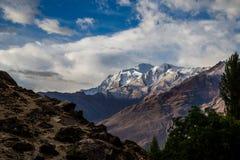 Una bella montagna nel Pakistan del Nord Fotografia Stock