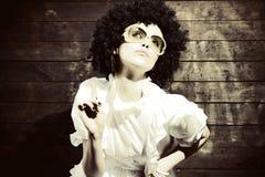 Una bella ragazza Fotografie Stock Libere da Diritti