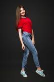 Una bella ragazza anziana da 13 anni Fotografie Stock Libere da Diritti