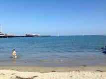 Una bella spiaggia Immagini Stock