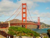 Una bella vista di golden gate bridge Fotografia Stock