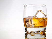 Una bevanda fotografie stock libere da diritti