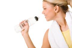 Una bevanda di acqua Fotografia Stock Libera da Diritti