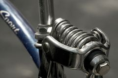 Una bici di dieci velocità Immagini Stock