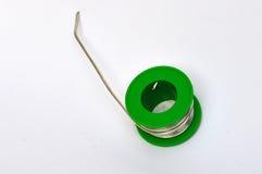 Una bobina della lega per saldatura fotografie stock