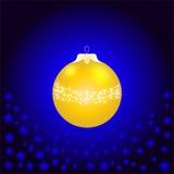 Una bola de la Navidad Imagen de archivo