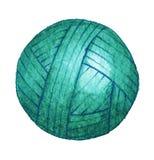 Una bola del hilado para hacer punto Imagenes de archivo