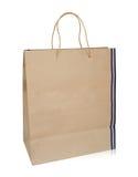 Bolsa de papel que hace compras Fotos de archivo libres de regalías